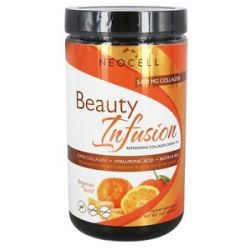 Neocell Laboratories Beauty Infusion Refreshing Collagen Drink Mix Tangerine