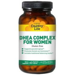 Country Life DHEA Complex for Women 60 Vegetarian Capsules formerly Biochem