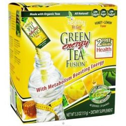 To Go Brands Healthy to Go Green Tea Energy Fusion Honey Lemon 24 Packet S