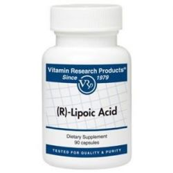 R Lipoic Acid 50 MG 90 Caps by Vitamin Research Products