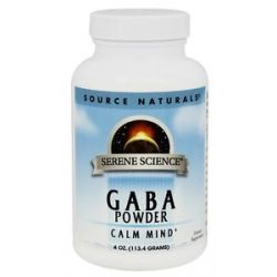 Source Naturals GABA Powder 4 Oz