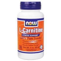 Now Foods L Carnitine Pure Powder 3 Oz