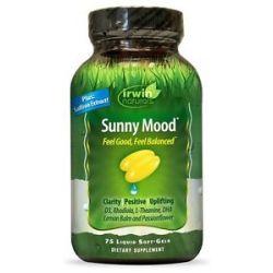 Irwin Naturals Sunny Mood 75 Liqui Caps