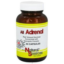Natural Sources All Adrenal 60 Capsules
