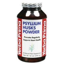 Yerba Prima Psyllium Husks Powder 12 Oz