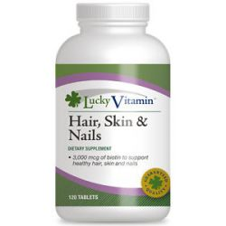 Luckyvitamin Hair Skin Nails 120 Tablets