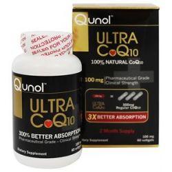 Qunol Ultra CoQ10 100 MG 60 Softgels