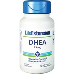 Life Extension DHEA 25 MG 100 Tablets