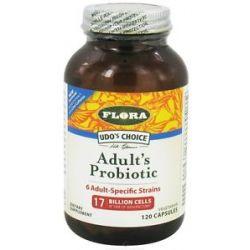 Flora Udo's Choice Adult's Probiotic 120 Capsules