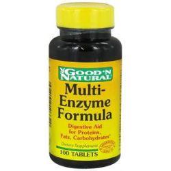 Good 'N Natural Multi Enzyme Formula 100 Tablets