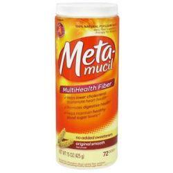 Metamucil Multihealth Fiber Original Smooth 15 Oz