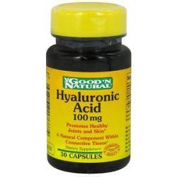 Good 'N Natural Hyaluronic Acid 100 MG 30 Capsules