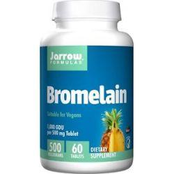 JARROW Formulas Bromelain 1000 500 MG 60 Tablets
