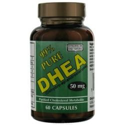 Only Natural DHEA 99 Pure 50 MG 60 Capsules