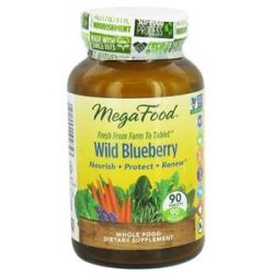 MegaFood Wild Blueberry 90 Chewable Tablets 051494102336