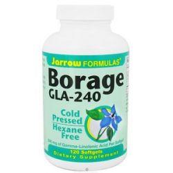 JARROW Formulas Borage GLA 240 120 Softgels