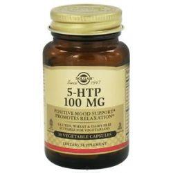 Solgar 5 HTP 100 MG 30 Vegetarian Capsules