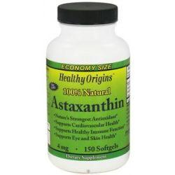 Healthy Origins Astaxanthin 4 MG 150 Softgels