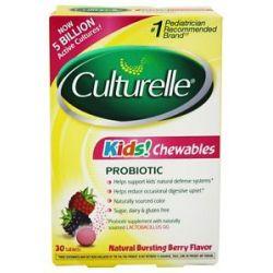 Culturelle Kids Probiotic 30 Chewable Tablets