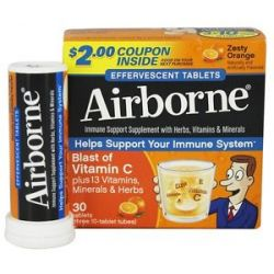 Airborne Triple Pack Zesty Orange 30 Tablets