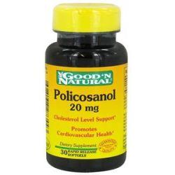 Good 'N Natural Policosanol 20 MG 30 Softgels