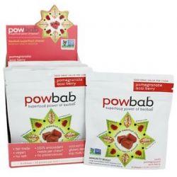 Powbab Superfruit Chews Pomegranate Acai Berry 6 Chew S