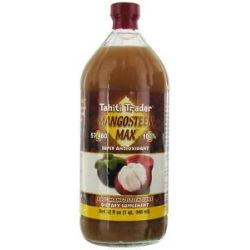 Tahiti Trader Mangosteen Max 100 Mangosteen Juice 32 Oz