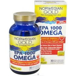 Renew Life Norwegian Gold Omega EPA 1000 MG 30 Softgels