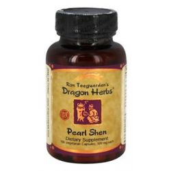 Dragon Herbs Pearl Shen 500 MG 100 Vegetarian Capsules