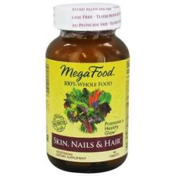 MegaFood Dailyfoods Skin Nails Hair 90 Vegetarian Tablets