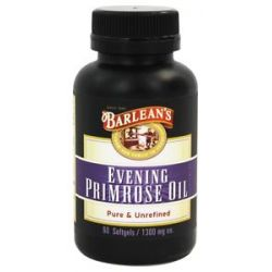 Barlean's Organic Evening Primrose Oil 1300 MG 60 Capsules