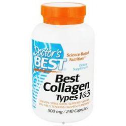Doctor's Best Best Collagen Types 1 3 500 MG 240 Capsules