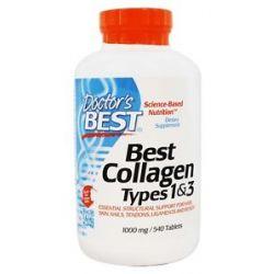 Doctor's Best Best Collagen Types 1 3 1000 MG 540 Tablets