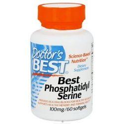 Doctor's Best Best Phosphatidyl Serine 100 MG 60 Softgels
