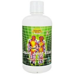 Dynamic Health Joint Elixir Liquid Pineapple Mango 32 Oz