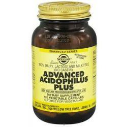 Solgar Advanced Acidophilus Plus 120 Vegetarian Capsules