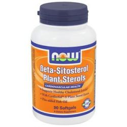 Now Foods Beta Sitosterol Plant Sterols 90 Softgels