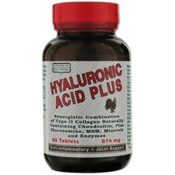 Only Natural Hyaluronic Acid Plus 814 MG 60 Tablets