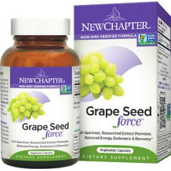 New Chapter Grape Seed Force 30 Vegetarian Capsules
