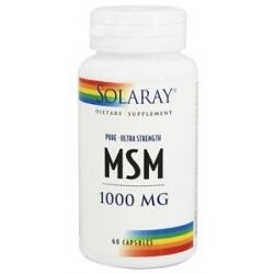 Solaray Pure MSM Ultra Strength 1000 MG 60 Capsules