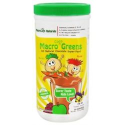 Macrolife Naturals Macro Greens for Kids Coco 14 2 Oz 054139907006