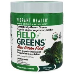 Vibrant Health Field of Greens Raw Green Food 3 76 Oz