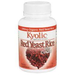 Kyolic Red Yeast Rice Plus CoQ10 1200 MG 75 Capsules