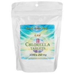 Earth Circle Organics Chlorella Tablets 1000 Tablets