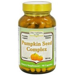 Only Natural Pumpkin Seed Complex 700 MG 90 Capsules
