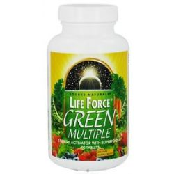 Source Naturals Life Force Green Multiple 90 Tablets