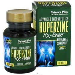Nature's Plus Advanced Therapeutics Huperzine RX Brain 30 Tablets