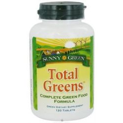 Sunny Green Total Greens Complete Green Food Formula 120 Tablets