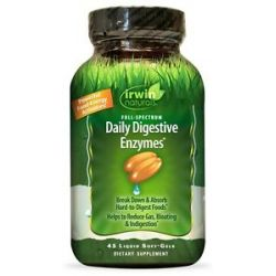 Irwin Naturals Full Spectrum Daily Digestive Enzymes 45 Softgels