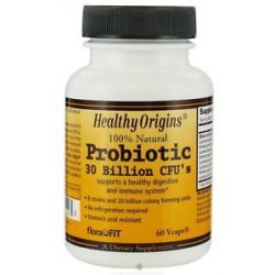 Healthy Origins Probiotic 30 Billion CFU's 60 Vegetarian Capsules